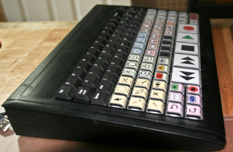 DIY Cubase keyboard control surface